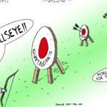 Cartoon - BULLSEYE!