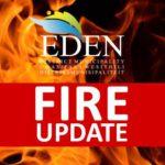 Update from Eden DM district JOC – 12h00