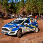 """""""Young Guns"""" Leeke and Köhne move to the top of the standings after VW Rally win"""