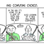 Cartoon: Two Guys - and confusing choices