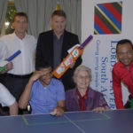 Bel Porto School for children with disabilities scores with Table Cricket