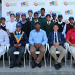 SWD boy's cricket team receive their caps
