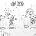 Cartoon - Reading and Counting