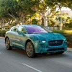 Jaguar testing its new electric i-Pace ahead of it global launch