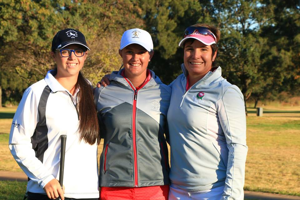 Brittney-Fay Berger from KwaZulu-Natal, Lynette Fourie from Gauteng and Sandra Winter from Southern Cape