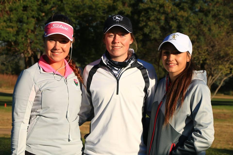 Zane Naude from Southern Cape, Michaela Fletcher from KwaZulu-Natal and Eleonora Galletti from Gauteng