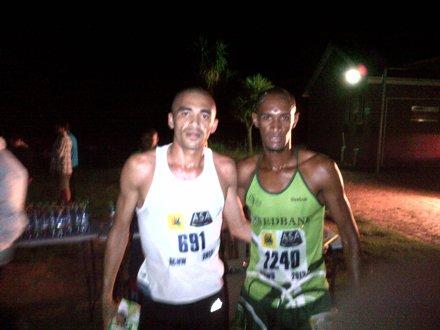 Elroy Galant (winner) and Lloyd Bosman (2nd).