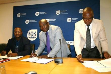 HOD-Mbulelo-Tshangana-MEC-Bonginkosi-Madikizela-and-Brian-Maholo-SHRA