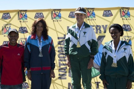 Medal Winners:  Annatjie Botes and Una Saayman.