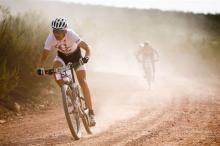 Former Marathon World Champion, Christoph Sauser (36ONE Songo Specialized), tops a stellar line-up for the Attakwas Extreme Challenge mountain bike.