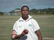 Allistair Petersen (5/45 with the ball) was the bowling hero for Mayflower