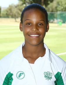 Oudtshoorn Women's batting hero – Michaela Andrews who made 209