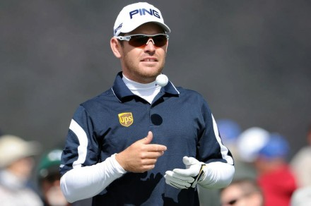 King Louis could make some huge moves in the World Ranking now that Tiger and Rory are both out. Watch out world! Louis will face Robert Garrigus for his second match.