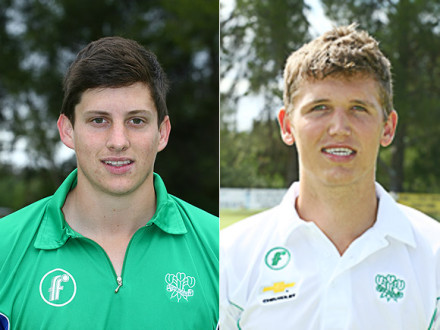 Two promising SWD players, Gareth Dukes and Ruan Stander, will represent the Chevrolet Warriors Colts team at the Cricket South Africa National Colts week that will take place in Potchefstroom from 11-15 April 2013. Dukes, who attended the SWD Academy in 2012 made his debut for the SWD senior team the past season whilst Stander, who was the SWD U/19 and SWD U/18 captain in 2012 also represented SWD in Twenty20 cricket in the 2012/13 season.