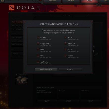 Dota2-SA on the Map
