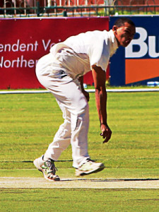 Marcello Piedt sets a new South African record – the most first class wickets taken in a debut season (59).