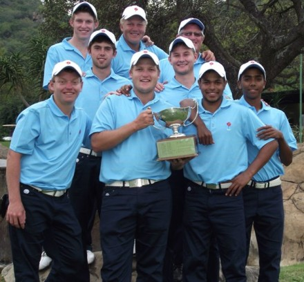 The victorious Gauteng North team; credit Ray Lacock
