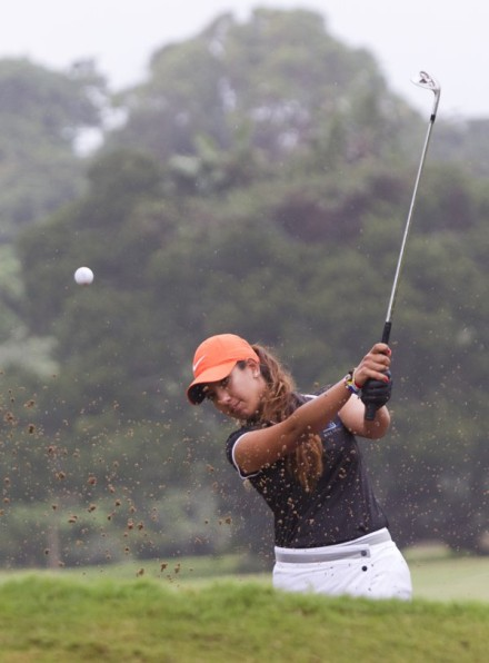 Moroccan Maha Haddioui is the first Arab woman to earn full playing privileges on the Ladies European Tour, and will be making her debut in the South African Women's Open. Credit: Rogan Ward.