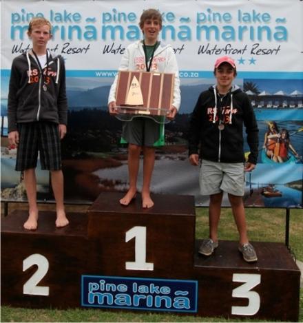Selection Regatta - Pro Sail - 1st James Hellstrom (George), 2nd Calvin Gibbs (Cape Town), 3rd Sam Lombaard (Durban)