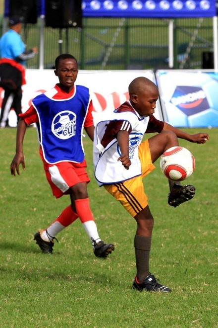 Danone Nations Cup Nkunzimbini Primary School