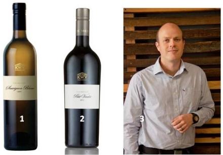 1. KWV The Mentors Sauvignon blanc 2009.  2. KWV The Mentors Petit Verdot 2011.  3. KWV Chief Winemaker Johann Fourie