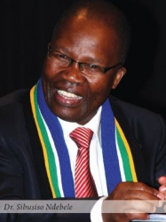 Dr Sibusis Ndebele