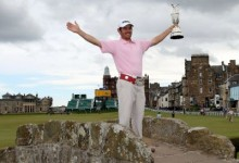Louis Oosthuizen - 2010 British Open Champion