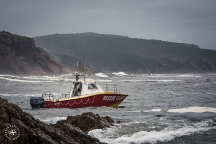 The oldest serving Rescue Vessel in the NSRI Fleet - Decommissioned on 24 August 2008.