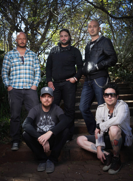 Prime Circle in the Botanical Gardens – left to right (back row) Neil Breytenbach, Marco Gomes, Dirk Bisschoff (front row) Ross Learmonth, Dale Schnettler