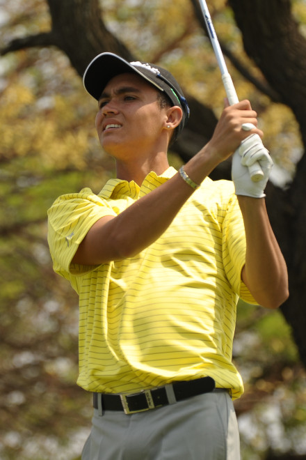 North West golfers Wade Jacobs and Danie van Niekerk combined for foursomes victories against Border and Mpumalanga in the fourth round of the South African Inter-Provincial, sponsored by Tempest, at Rustenburg Golf Club; credit Dale Boyce.