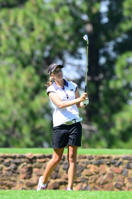 Milnerton's Cara Gorlei helped the Western Province A side to a 702 win at Pick n Pay South African Women's Inter-Provincial at Port Elizabeth Golf Club on Thursday; credit WGSA