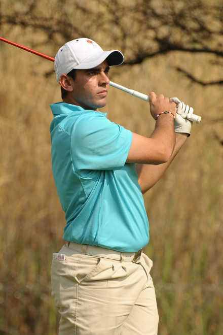 Gauteng North's captain Tokkie van den Berg led his side to victory in the A-Section of the South African Inter-Provincial, sponsored by Tempest, at Rustenburg Golf Club; credit Dale Boyce