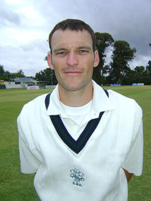 SWD captain Ross McMillan was unfortunate to be dismissed 3 runs short of a well deserved century.