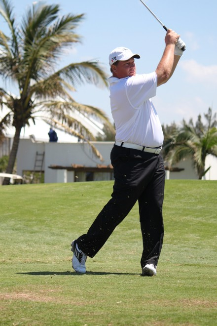 KwaZulu-Natal's Keith Forde in action in the second round of the SA Mid-Amateur Inter-Provincial at Durban Country Club; credit Xclusiveshots