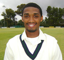 Lyndon Volkwyn who excelled with the ball for NMMU