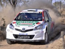 Toyota crew Johnny Gemmell and Carolyn Swan will try to prevent a Ford clean-sweep of wins this season.