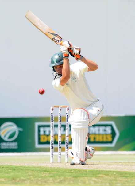 SWD captain, Ross McMillan (106), who's century was in vain the past weekend as SWD lost to Free State