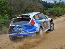 Newly-crowned 2013 champions Mark Cronje and Robin Houghton won the Garden Route Rally, which was cut short by heavy rains.