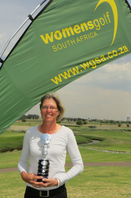 Southern Cape golfer Sonja Bland captured the South African Mid-Amateur Championship at Graceland Hotel, Casina and Country Club; credit WGSA