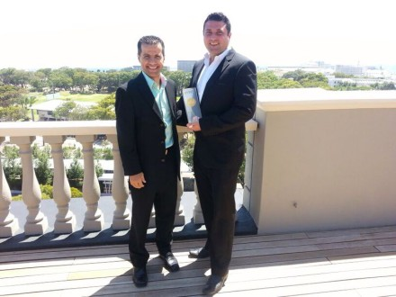 Casim Waja [Agoda] & Vincent Bouwer [The Cape Royal Luxury Hotel]