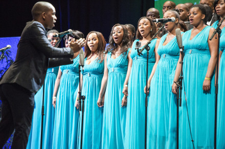 University of the Western Cape (UWC) Creative Arts Choir, lead by Sibusiso Njgeza (who also won Best Conductor), received top honours at the 36th Old Mutual National Choir Festival.