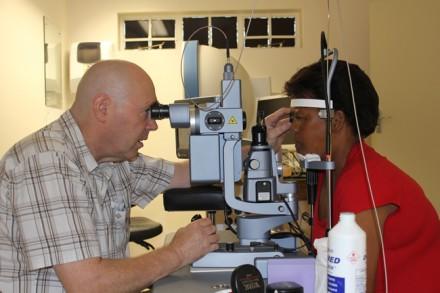 Dr Nicolaas Stempels prepares for Erica September's session