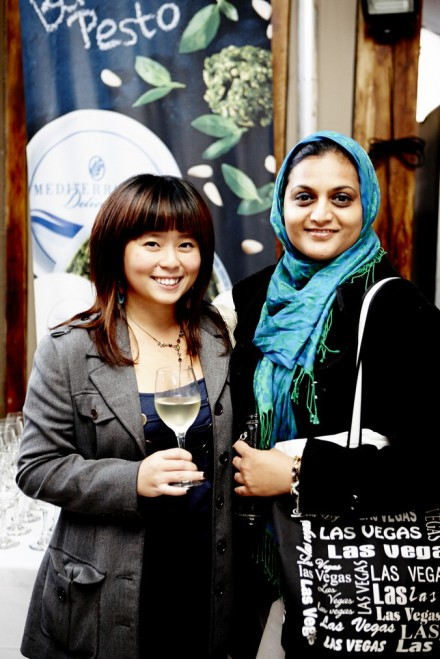 Lisa Huang; Maageda Sheik
