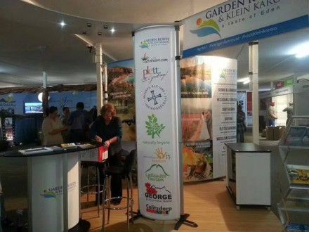 The regional tourism stand conceptualised and design by Eden DM
