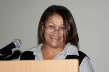 Shireen Noble at the annual ASWD Awards Function.  Photo - Mark Boonzaaier.