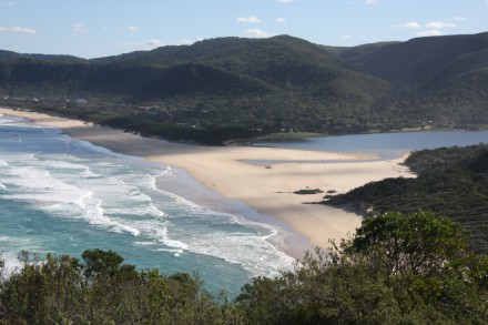 Nature's Valley beach and Grootriver Estuary