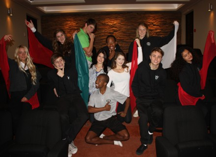 Students from all over South Africa have already enrolled.  Seen here are the Musical Theatre & Drama students from Rundle College.