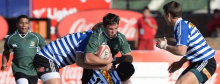 Le Roux Baard in action against the Blue Bulls during the 2014 Craven Week