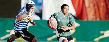 Shadwood Fillies from Sao Bras and SWD on the run against Western Province.
