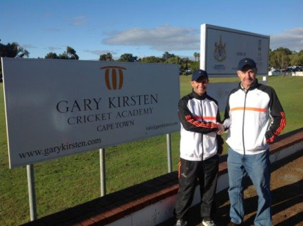 Gary Kirsten and Andrew Russell launched the Gary Kirsten Travel and Tours company this August.